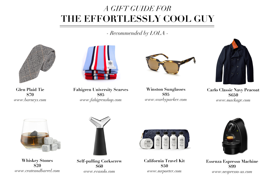 Valentine's Day Gift Guide for the Effortless Cool Men
