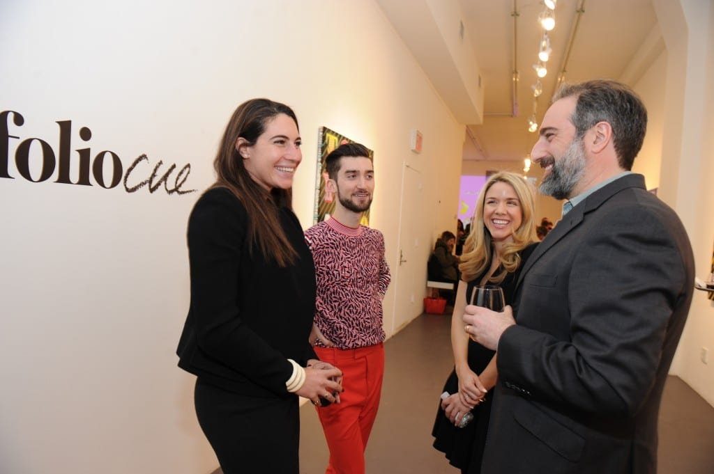 Ben Eine LOLA Event FOlioCue Launch at the Judith Charles Gallery in New York