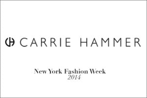 Carrie Hammer - New York Fashion Week