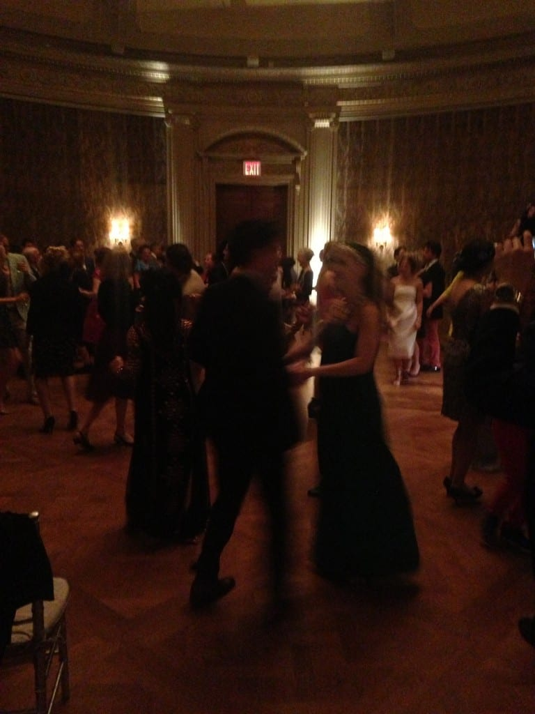Dancing at the Spring Garden Party at the Frick Collection