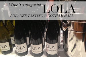 LOLA at the Polaner Tasting Event in Gotham Hall