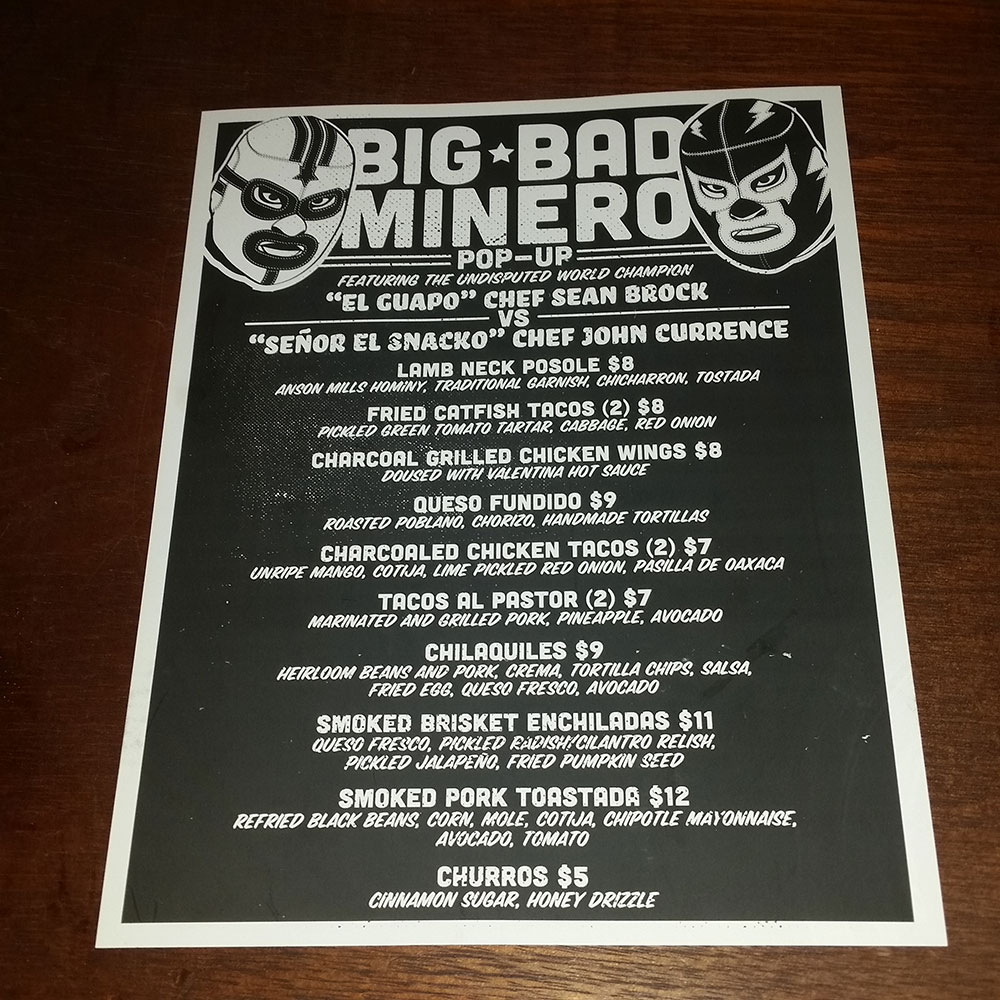 Oxford's Big Bad Minero Pop-Up